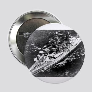 "USS West Virginia Ship's Image 2.25"" Button"