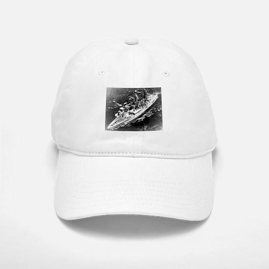USS West Virginia Ship's Image Baseball Baseball Cap