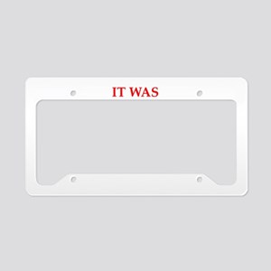 Funny joke on gifts and t-shirts. License Plate Ho