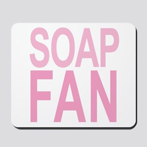 Soap Fan 80s Pink Mousepad