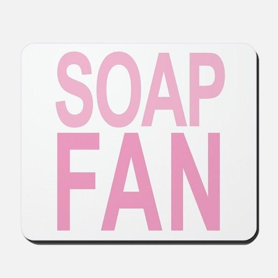 Soap Fan 80s Pink Mousepad