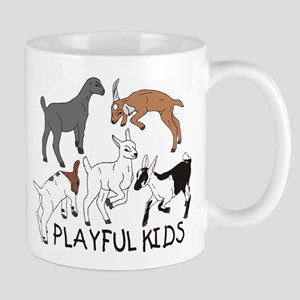 Playful Goat Kids Mug