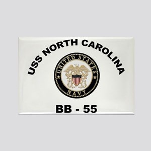 USS North Carolina BB 55 Rectangle Magnet