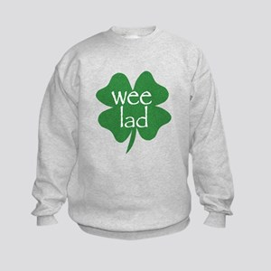 Wee Lad Irish Kids Sweatshirt