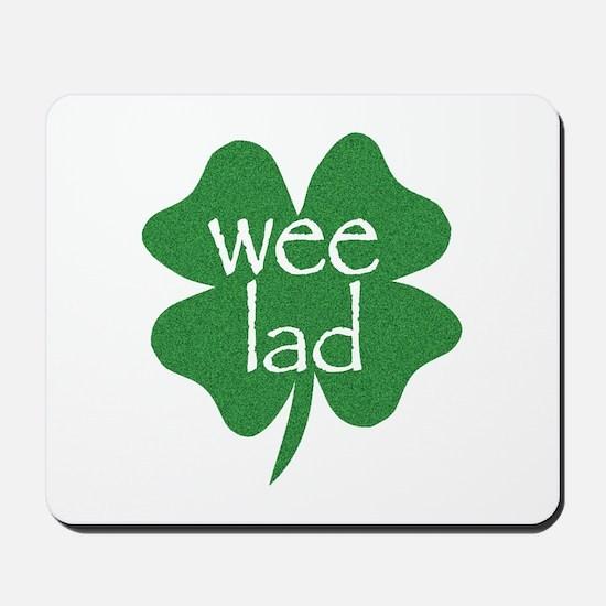 Wee Lad Irish Mousepad