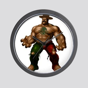 Mexican Hulk Wall Clock