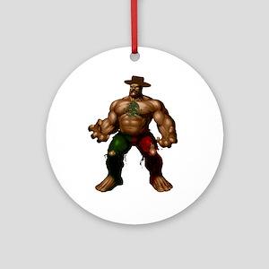Mexican Hulk Ornament (Round)
