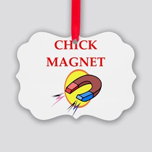 chick magnet Ornament