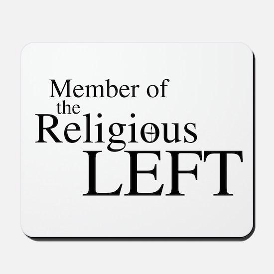 Religious LEFT Mousepad