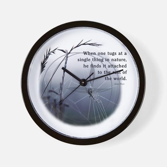 UU - Web of Life Wall Clock