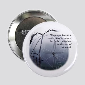 "UU - Web of Life 2.25"" Button"