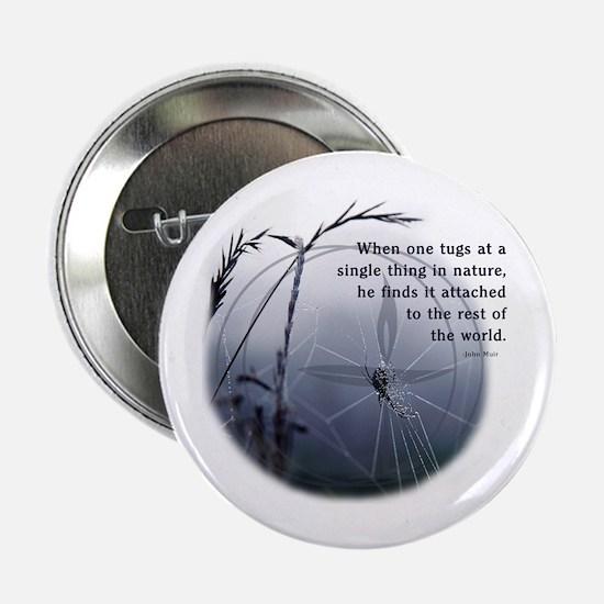 "UU - Web of Life 2.25"" Button"