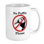 No Puffin Please Mugs