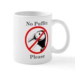 No Puffin Please Mugs