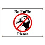 No Puffin Please Banner