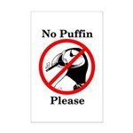 No Puffin Please Posters