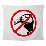 No Puffin Please Wall Tapestry