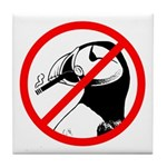 No Puffin Please Tile Coaster
