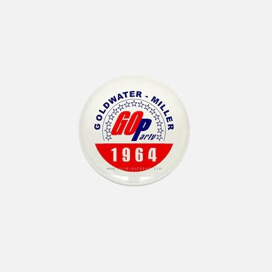 Goldwater Miller 1964 Mini Button