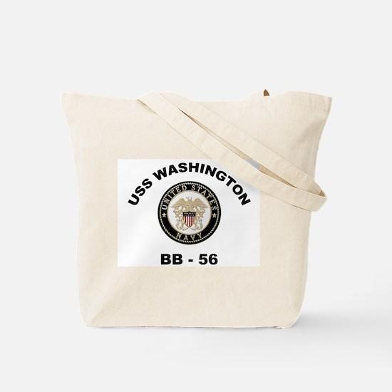 USS Washington Ship's Image Tote Bag