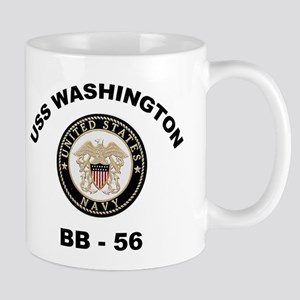 USS Washington BB 56 Mug