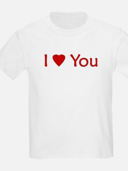 """I Love You"" - Kids T-Shirt"
