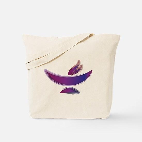 UU Painted Chalice Tote Bag
