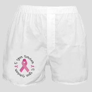 5 Year Survivor Boxer Shorts