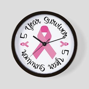 5 Year Survivor Wall Clock
