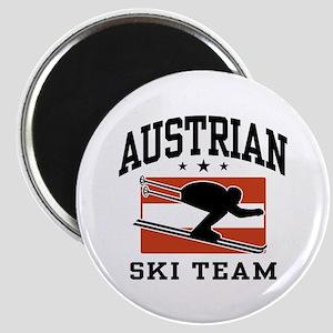 Austrian Ski Team Magnet