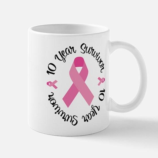 10 Year Survivor Mug
