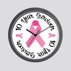 10 Year Survivor Wall Clock