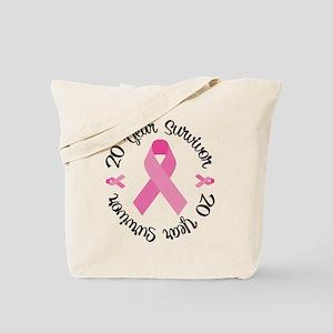 20 Year Survivor Tote Bag