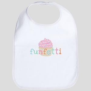 Pink Funfetti Cupcake - Bib