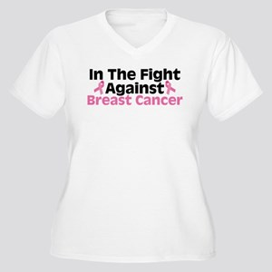 In The Fight Women's Plus Size V-Neck T-Shirt