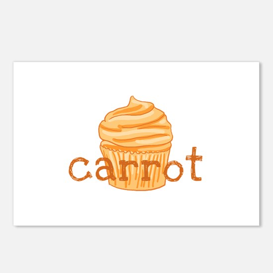 Carrot Cupcake - Postcards (Package of 8)