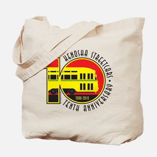 Kenosha Streetcar 10th Tote Bag