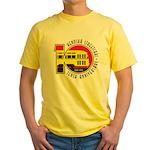 Kenosha Streetcar 10th Yellow T-Shirt
