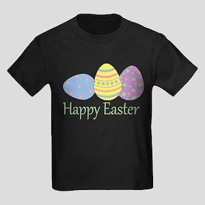 Happy Easter Kids Dark T-Shirt