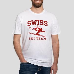 Swiss Ski Team Fitted T-Shirt
