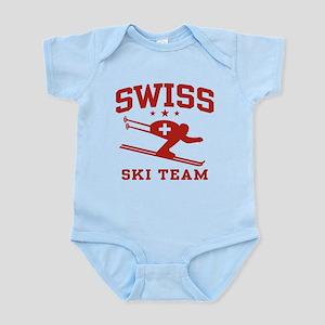 Swiss Ski Team Infant Bodysuit