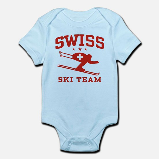 Swiss Ski Team Infant Bodysuit