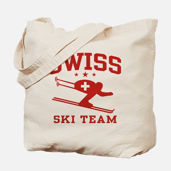 Swiss Ski Team Tote Bag