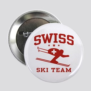 "Swiss Ski Team 2.25"" Button"