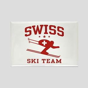 Swiss Ski Team Rectangle Magnet