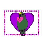 Meyers Parrot Postcard Valentines (Package of 8)