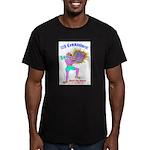 HONOR THY ANIMAL Men's Fitted T-Shirt (dark)