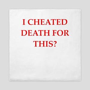 cheat death Queen Duvet