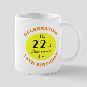 40th Birthday Anniversary Mug