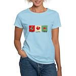 Peace, love, meat Women's Light T-Shirt